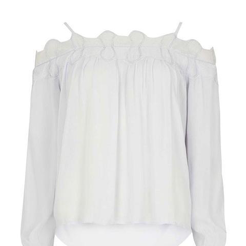 White Off Shoulder Blouse