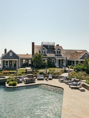 Inside Kourtney Kardashian's Dreamy $50 Million Nantucket Mansion