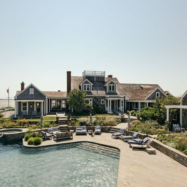 Inside Kourtney Kardashian's Dreamy $50 Million Nantucket Mansion