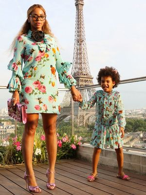 Beyoncé and Blue Ivy's Matching Outfits Are Beyond Adorable