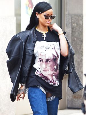 The Underground NYC Spot Rihanna Scores Vintage Band Tees