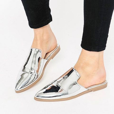 Montana Pointed Flat Mules