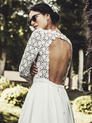 How to Get Effortless French Bridal Style