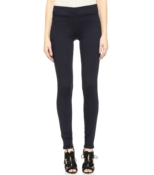 'Patterned, plain or leather, treggings are set to be seen on all the hottest legs this winter.' 'Sleek and tailored, treggings are great for work and give you lasting comfort throughout the day.'.