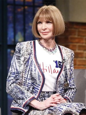 How Anna Wintour Is Affecting Hillary Clinton's Style