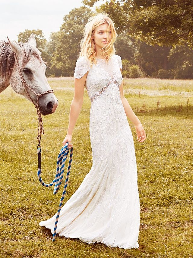 The jenny packham bridal campaign is too dreamy for words for How much are jenny packham wedding dresses