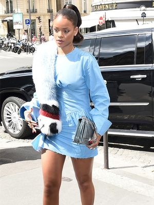 Rihanna Stepped Out in the Coolest Outfit in France (Again)