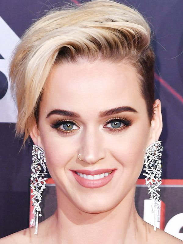 Short hairstyles: Katy Perry's new short blonde look