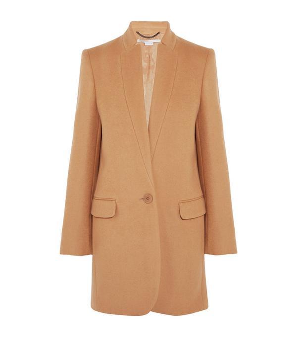 Best Winter Coats: Stella McCartney Bryce Melton Wool-Blend Coat