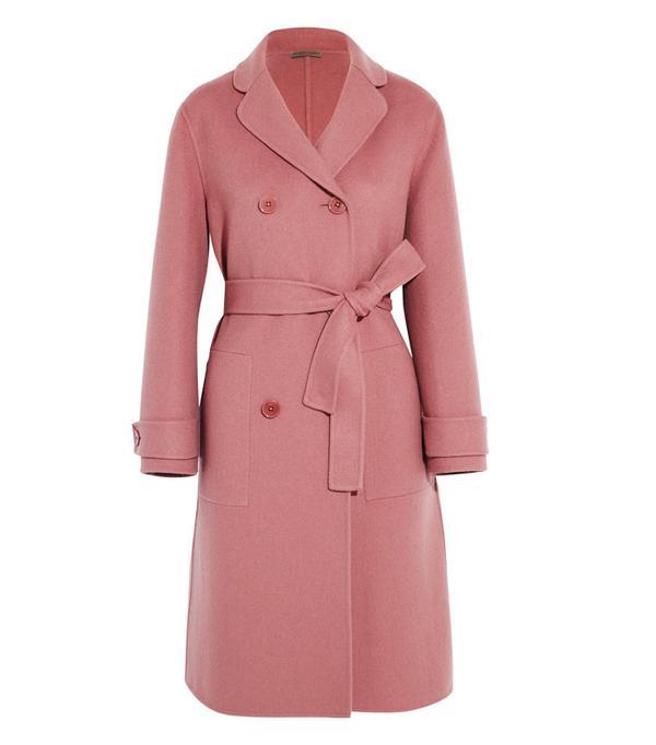 Best Winter Coats: Bottega Veneta Double-Breasted Cashmere Coat