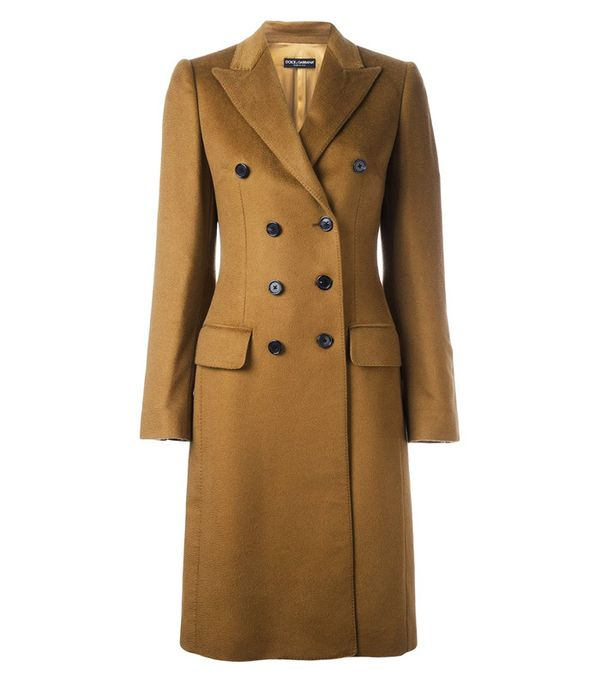 Best Winter Coats: Dolce & Gabbana Double-Breasted Coat