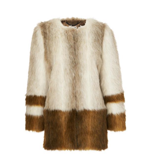 Best Winter Coats: Whistles Duvall Faux-Fur Coat