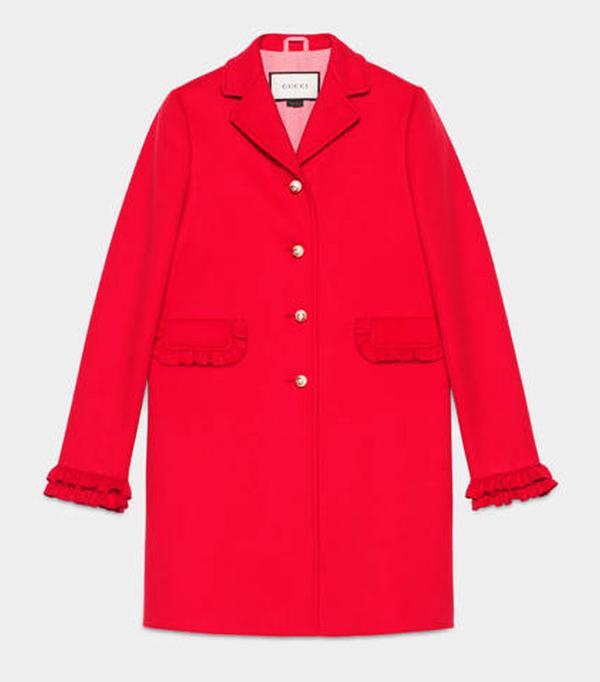 Best Winter Coats: Gucci Single-Breasted Wool Coat