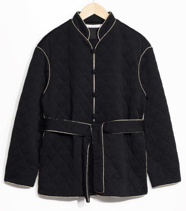 Best Winter Coats: & Other Stories Quilted Emperor Jacket