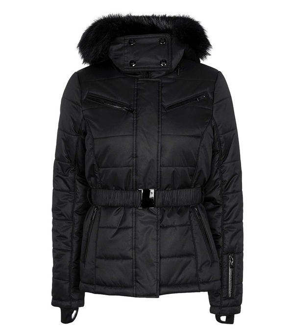 Best Winter Coats: Topshop Panelled Ski Jacket by Topshop SNO