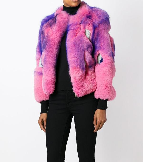 Best Winter Coats: Liska Fox Fur Jacket