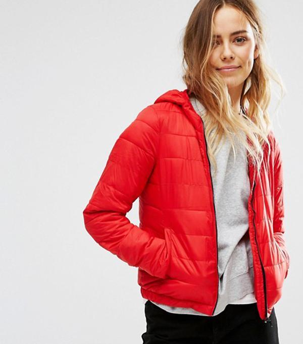 Best Winter Coats: Pull & Bear Lightweight Padded Jacket