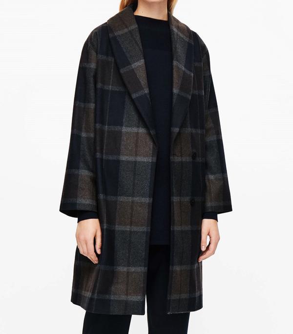 Best Winter Coats: COS Shawl-Collared Coat