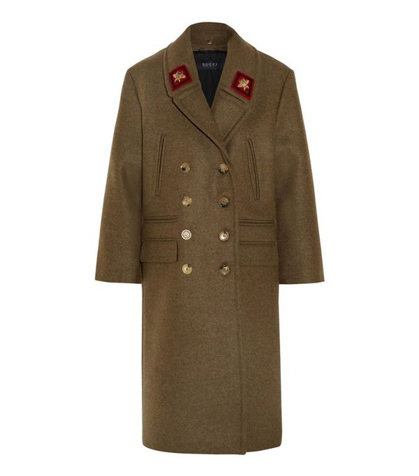 Best Winter Coats: Gucci Double-Breasted Wool Coat