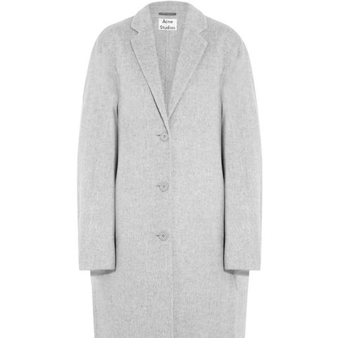 Avalon Double Oversized Wool-and-Cashmere-Blend Coat
