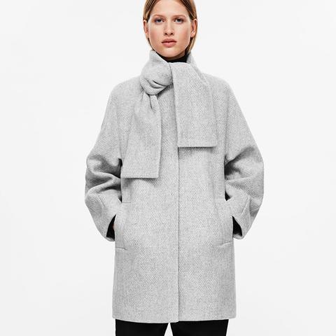 Cocoon Shaped Coat