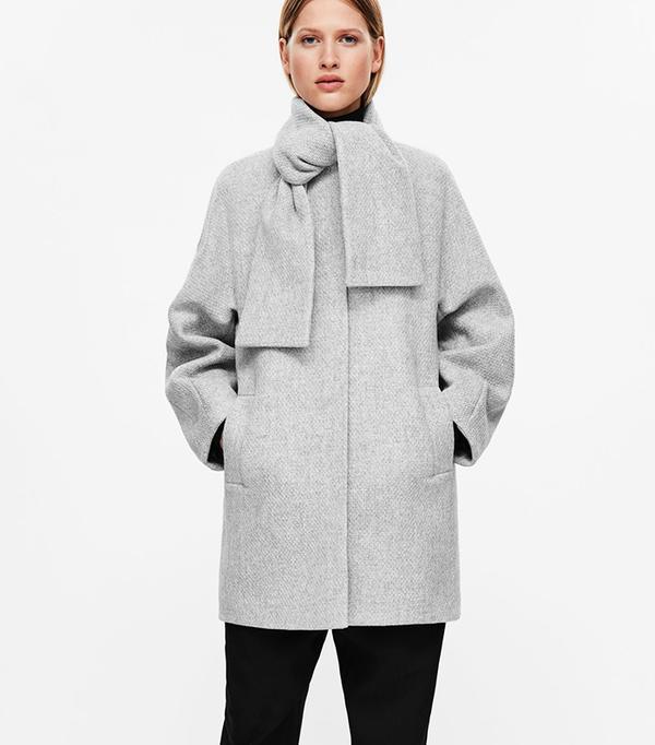 Best Winter Coats: COS Cocoon Shaped Coat