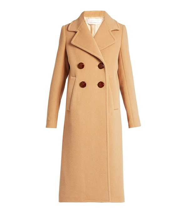 Best Winter Coats: See by Chloé Double-Breasted Coat