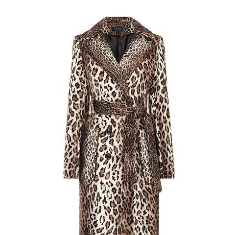 Faux-Fur Leopard Coat