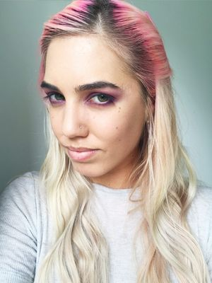 Amber Le Bon Puts Three Bold Eye Colours to the Test—See The Pictures