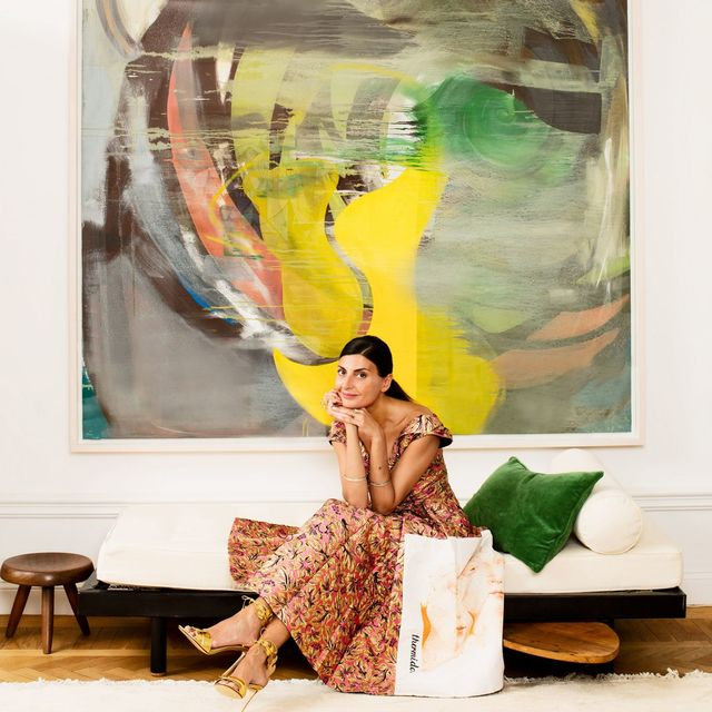 Inside Fashion Editor Giovanna Battaglia's Stockholm Apartment