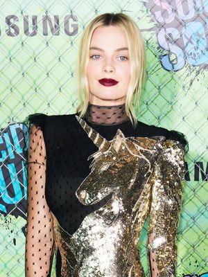See the $12,000 Alexander McQueen Dress Margot Robbie Just Wore
