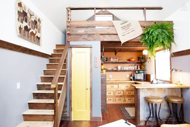 1. The Rustic Modern Tiny House, Portland, United States