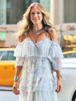 Sarah Jessica Parker Went Full-On Carrie Bradshaw Last Night