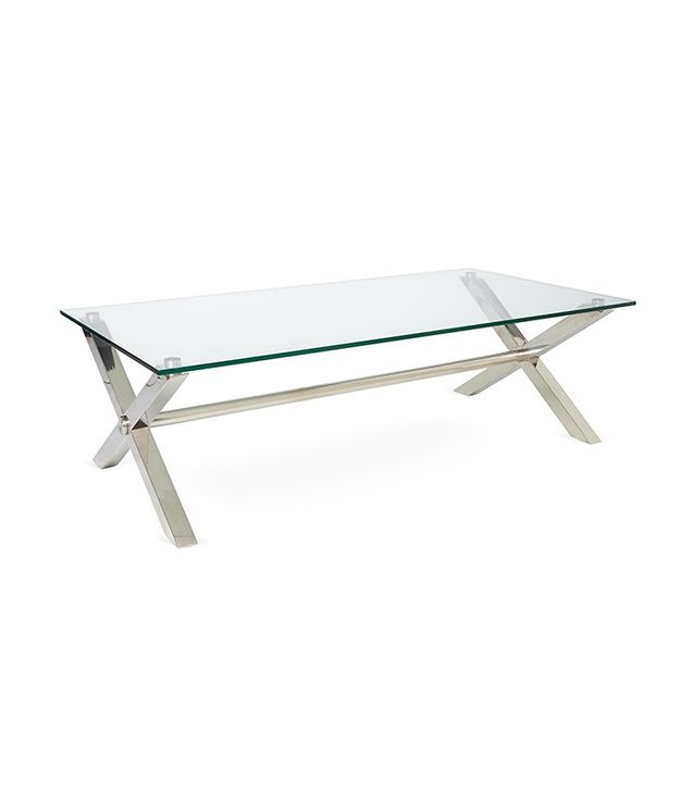 Beverly Coffee Table in Silver