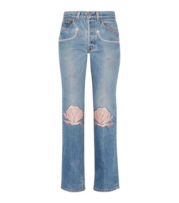 Embroidered Jeans 13 Of The Most Divine Denim Creations