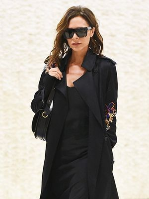 Only Victoria Beckham Could Get Away With an Airport Dress Like This