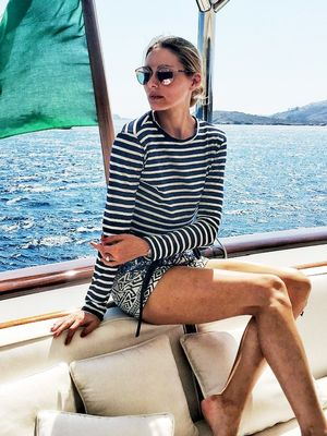 What Olivia Palermo Wears On Vacation In Italy