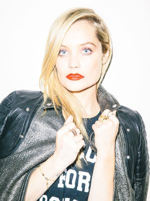 Laura Whitmore on How to Wear a Red Lip and Not End Up a Mess
