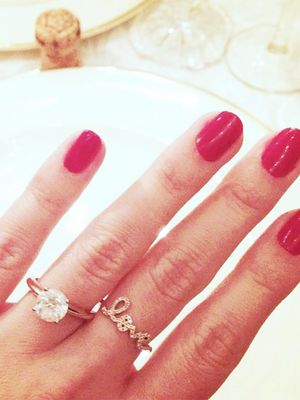 The Engagement Ring Pics That Blew Up on Instagram