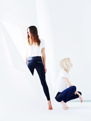 "Meet the Leggings That Guarantee Zero ""Muffin Top"""
