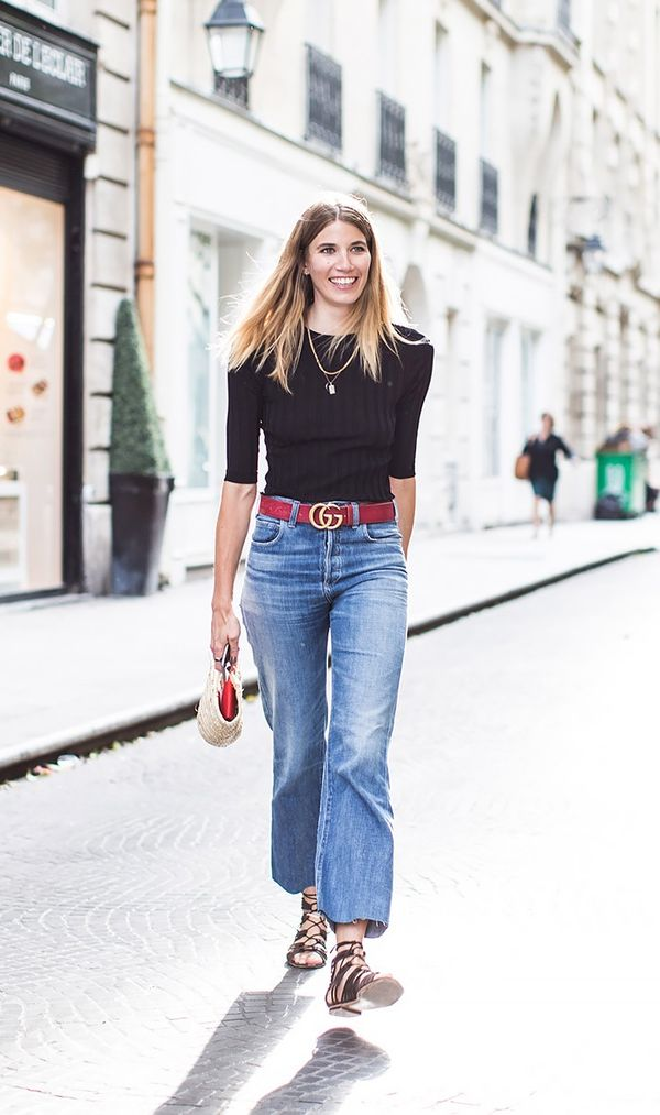 13 Outfit Formulas for High-Waisted Jeans | WhoWhatWear