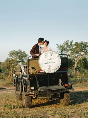 This Is the Vogue Way to Do a Safari Wedding
