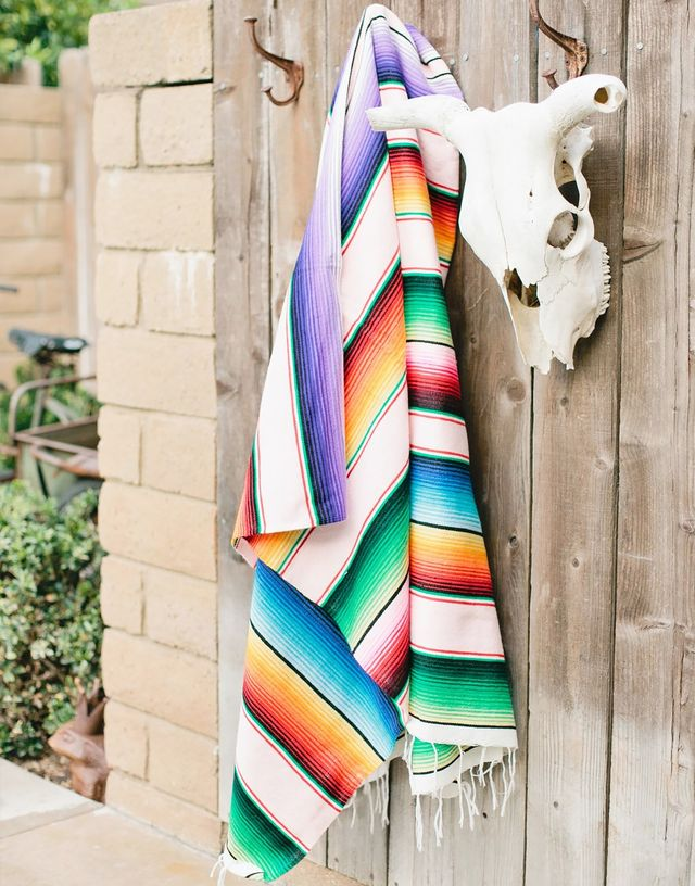 Colorful Serape Blanket