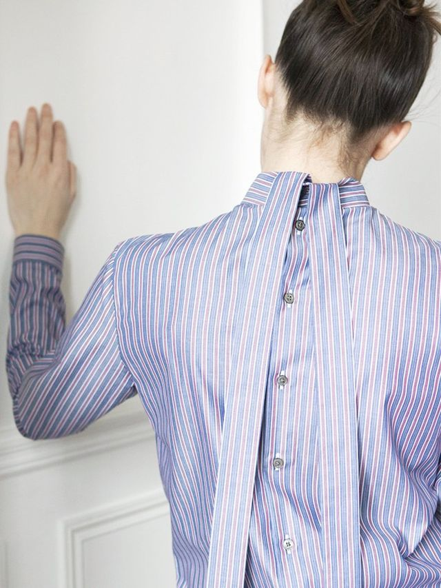 One of the many alternative shirts from Marie Marot's A/W 16 lookbook.