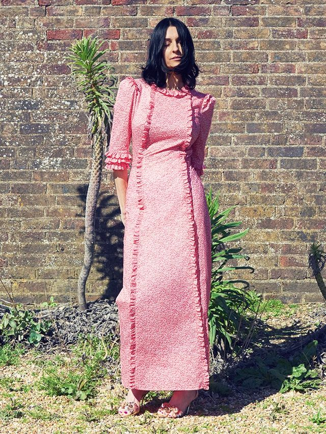 Founder Susie Cave wearing The Vampire's Wife for Matchesfashion.com The Style Report.
