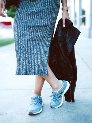 This Vintage-Inspired Sneaker Is a Street Style Essential