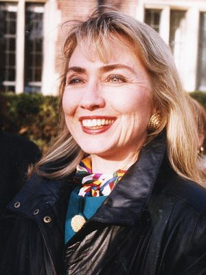 Hillary Clinton's Best Throwback Street Style