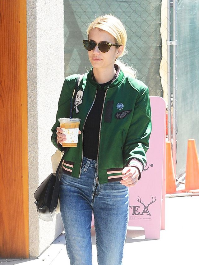 How Emma Roberts Took Her Varsity Jacket From Red Carpet ...
