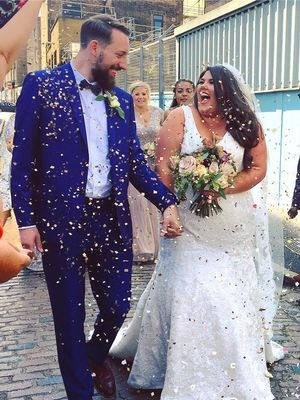 This Blogger Has a Message for All Plus-Size Brides