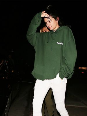 Of Course Kendall Jenner Pulled Off Sweats for a Night Out